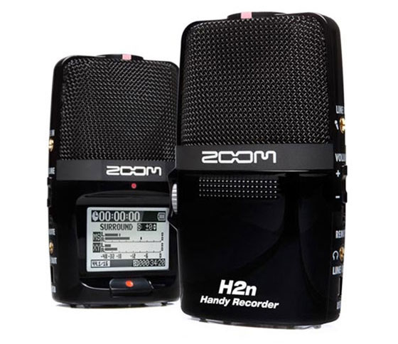 Large Pic of Zoom Handy H2n