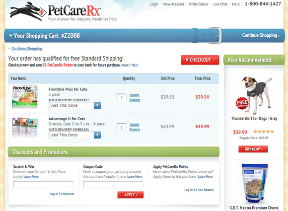 PetCareRx Coupons, Sales & Promo Codes For PetCareRx coupon codes and deals, just follow this link to the website to browse their current offerings. And while you're there, sign up for emails to get alerts about discounts and more, right in your inbox.