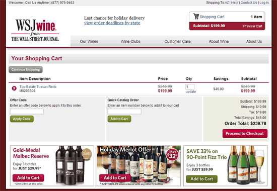 Coupons wsj wine